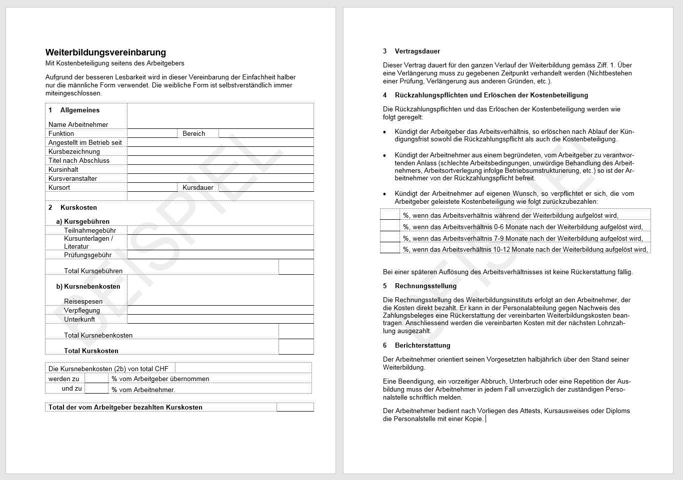 Download Weiterbildungs-Vertrag | AGVS | UPSA