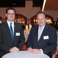 DavidRegli (l.) et TonivonDach, membres de la direction de FIGAS