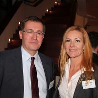 Roland Rino Büchel (consigliere nazionale del canton SG, UDC) e Katrin Portmann (UPSA)