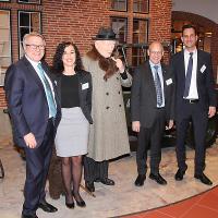 Karl Baumann (AGVS), Jennifer Isenschmid (AGVS), Kurt Giger (Leiter Sales Ernst Ruckstuhl AG) und Marc Kessler (CEO Quality1 AG)