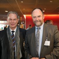 Franz Häfliger (Emil Frey AG Ostermundigen) e Hans Koller (routesuisse)