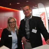 Monique Baldinger (UPSA) e Matthias Krummen (ESA)