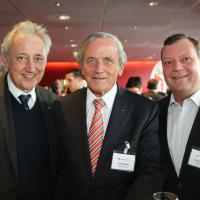 Daniel Roth, Jens Becker und André Steiner (alle Emil Frey AG)