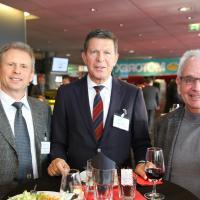 Peter-Martin Meier (Verkehrshaus), Max Nötzli und Hansruedi Keller