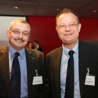 Andreas Fatzer (AMAG) und Giorgio Feitknecht (ESA)