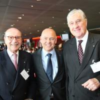 Silvio Bizzini (AMAG), Morten Hannesbo (AMAG) e Roland Ayer