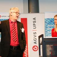 Christof Nägele und Miriam Rickli