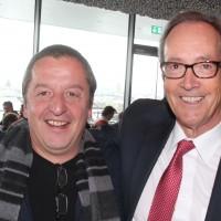 André Müller (Garage Müller AG, Herznach) et Urs Wernli (Président central de l'UPSA)