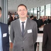 de g. Nicolas Kunz, Heiko Haasler et Eric Sagarra (Eurotax)