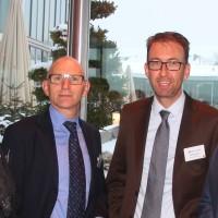 v.l. Iginio Cangero (Pirelli), Andreas Burgener (auto-schweiz), Dieter Jermann (Pirelli) und Christoph Wolnik (auto-schweiz)
