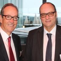 Urs Wernli (Presidente centrale UPSA) e Jürg Röthlisberger (Ustra)