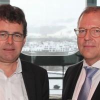 Hubert Waeber (Automobiles Belle-Croix AG) et Wolfgang Schinagl (auto-i-dat AG)