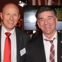 Da sinistra: Thomas Jenni (UPSA sezione SO) e Markus Aegerter (UPSA)