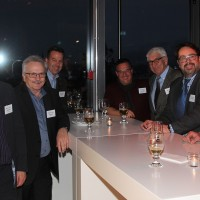 Da sinistra: Diego De Pedrini (UPSA sezione ZH), Christian Müller (Presidente UPSA sezione ZH), Werner Ronner (Wirage AG), Daniel Bättig (Daniel Bättig AG), Andreas Billeter (Amag), Hans A. Mäschli (Mäschli Kreuzgarage AG), Ronald F. Betschart e Hans J. Mäschli (Mäschli Kreuzgarage AG)