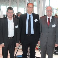 v.l. Rudolf Leibundgut, Hubert Waeber, Giorgio Feitknecht, Markus Hutter, Charles Blättler (alle ESA)