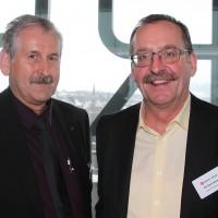 Da sinistra: Franz Galliker (UPSA) e Reinhard Gasser (Gasser AG, Gächlingen)