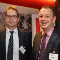 André Frey (FIUSGA) e Olivier Maeder (UPSA)