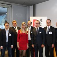 Morten Hannesbo, Philipp Ries, Lars Thomsen, Miriam Rickli, Mark Backé, Urs Wernli, Dr. Detlev Mohr et Christoph Aebi
