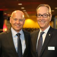 Morten Hannesbo avec Urs Wernli