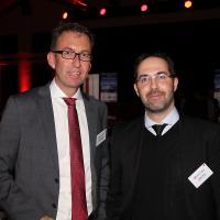 Dieter Jermann (CEO Pirelli Schweiz) und Tobias Treyer (AGVS Rechtskonsulent)