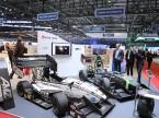 Unter Strom: Die Elektro-Racer der Schweizer Formula-Student-Teams am AGVS-Stand.