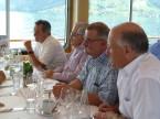 Fritz Bosshard (v.l.; ehemaliger Sektionspräsident ZH), Alfons Hungerbühler, Hermann Schaller (beide ehemalige ZV) und Patrick Schwerzmann (ehemaliger Sektionspräsident ZS).