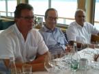 v.l.: Thomas Schlaepfer (ehemaliges ZV-Mitglied und Sektionspräsident SG), Urs Wernli sowie Gianfranco Christen.