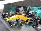 Der aktuelle Formel-1-Bolide von Renault.