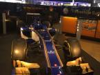 Der aktuelle Sauber-F1-Bolide.